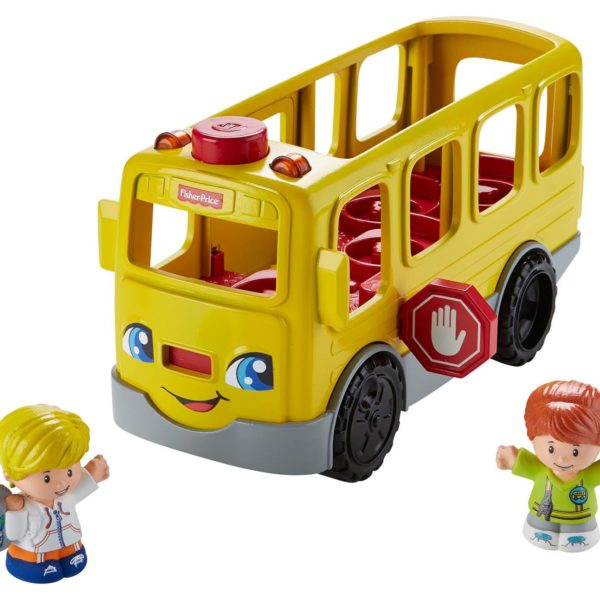 Fisher-Price-Little-people-skolebus-funster