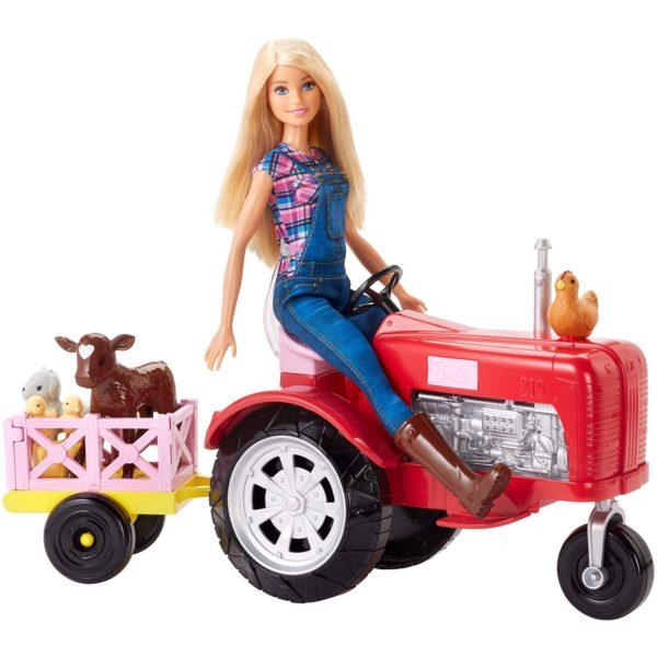 barbie-farmer-&-traktor-sæt-funster