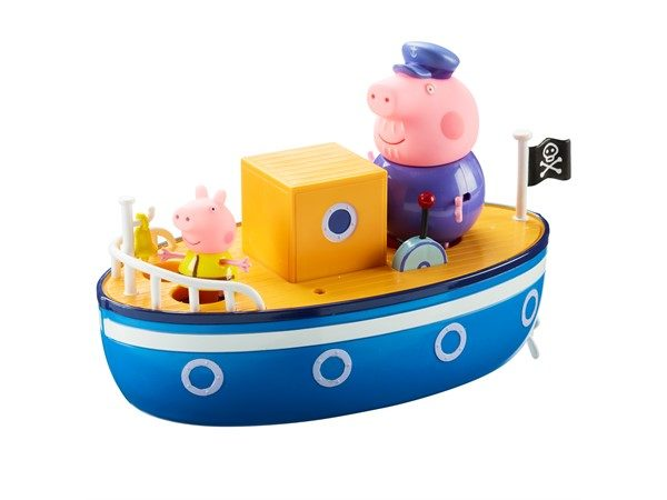 gurli-gris-bedstefar-gris-båd-funster