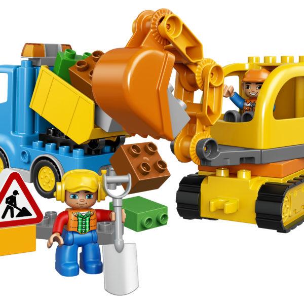 LEGO-DUPLO-Lastbil-og-Gravemaskine-på-Larvefødder-funster