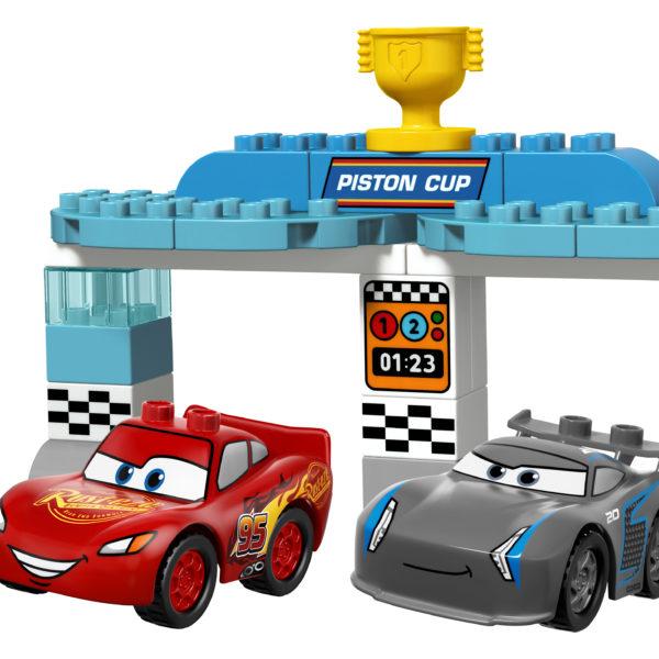 LEGO-DUPLO-Cars-Stempel-Cup-Racerløb-funster